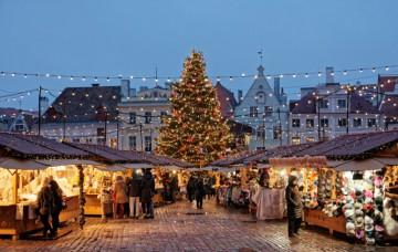 Adventní Riga a Livonsko
